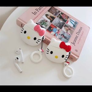 New Hello Kitty face AirPods Case